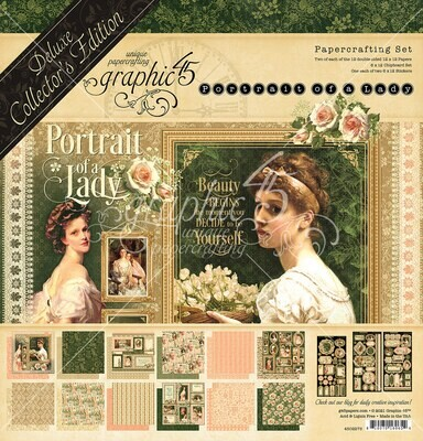 Portrait of a Lady - Deluxe Collector's Edition - Graphic 45