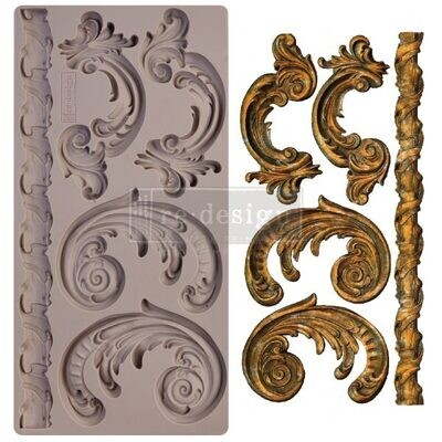 Lilian Scrolls - Redesign Decor Moulds - Re-Design With Prima