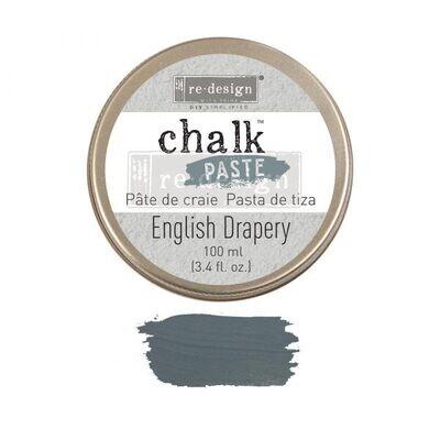 English Drapery - Chalk Paste - Re-Design With Prima