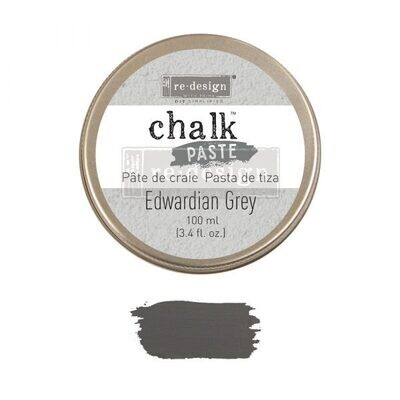 Edwardian Grey- Chalk Paste - Re-Design With Prima