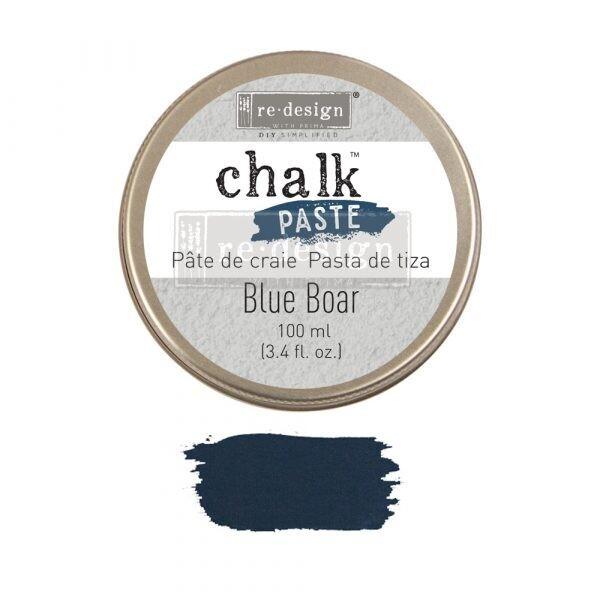 Blue Boar - Chalk Paste - Re-Design With Prima