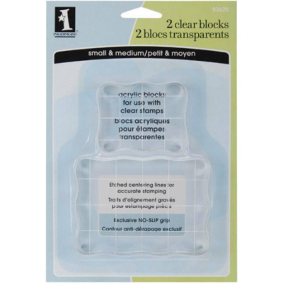 Acrylic Stamp Blocks - Inkadinkado Stamping Blocks