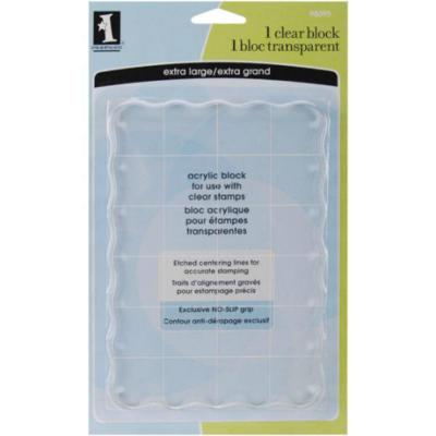 Acrylic Stamp Block - Inkadinkado Stamping Block
