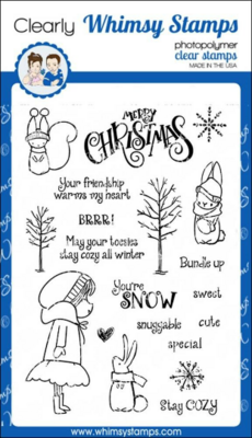 Bundled Up - Whimsy Stamps