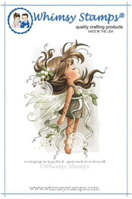 Mistletoe Fairy - Whimsy Stamps