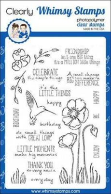 Enjoy The Little Things - Whimsy Stamps