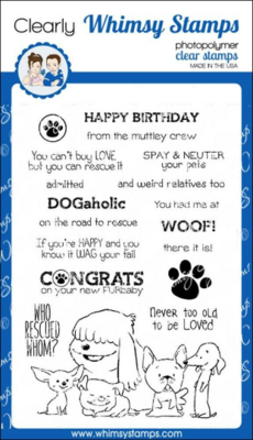 Adopt Don't Shop Dogs - Whimsy Stamps