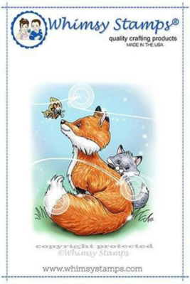 Fox Mom - Whimsy Stamps