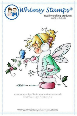 Winter Fairy - Whimsy Stamps