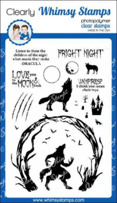 Howling Nights - Whimsy Stamps