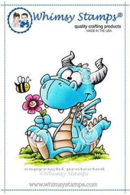 Dorky Dragon - Whimsy Stamps
