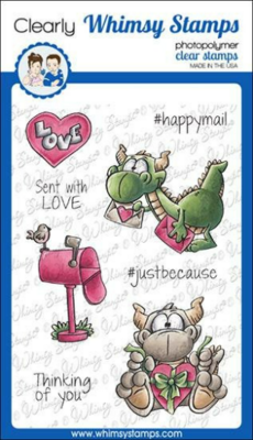 Dudley's Mailed With Love - Whimsy Stamps