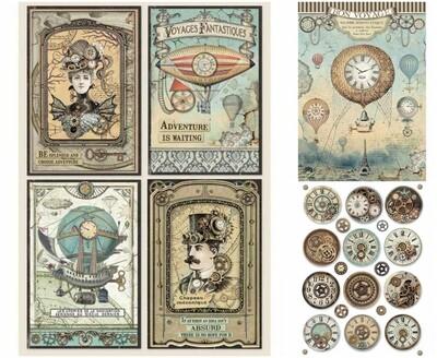 Voyages Fantastiques Collection A4 - Stamperia