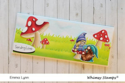 Gnome One Else - Whimsy Stamps