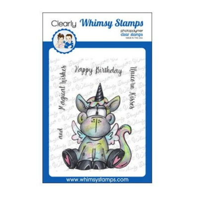 Unicorn Kisses - Whimsy Stamps