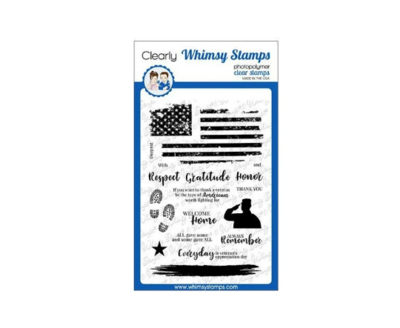 Military Heroes - Whimsy Stamps