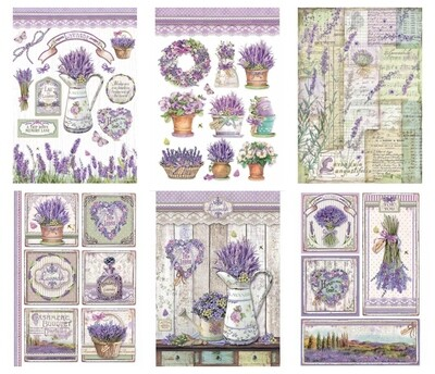 Provence Collection A4 - Stamperia