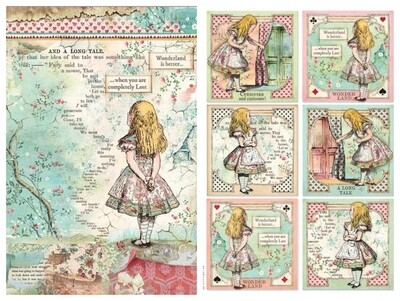 Alice Classic Collection A4 - Stamperia