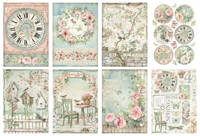 House of Roses Collection A4 - Stamperia