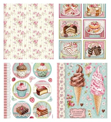 Sweety Collection A4 - Stamperia