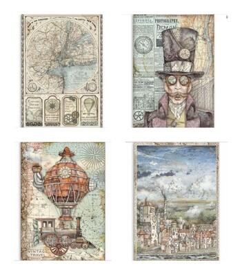 Sir Vagabond Collection A4 - Stamperia