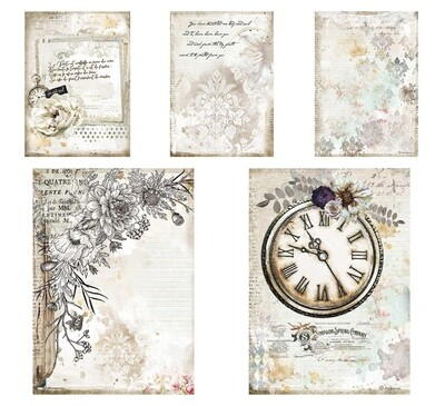 Romantic Journal Collection A4 - Stamperia