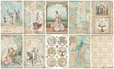 Sleeping Beauty Collection A4 - Stamperia