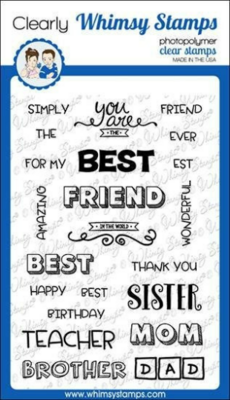 Best Friends - Whimsy Stamps