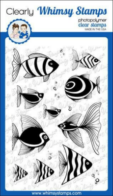 Fish Fancy - Whimsy Stamps