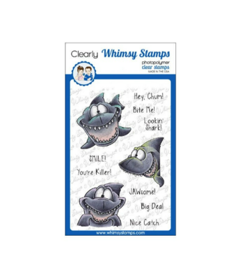 Lookin' Shark - Whimsy Stamps