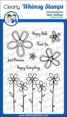 FaDoodle Blooms - Whimsy Stamps