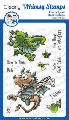 Flight of the Dragons - Whimsy Stamps