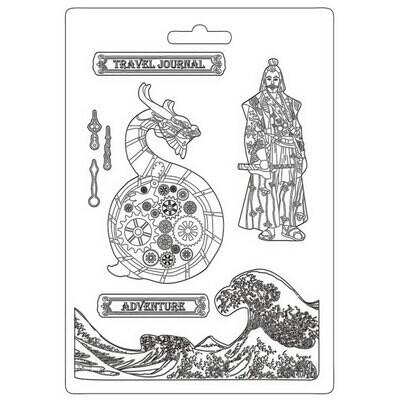 Dragon - Stamperia - Sir Vagabond in Japan
