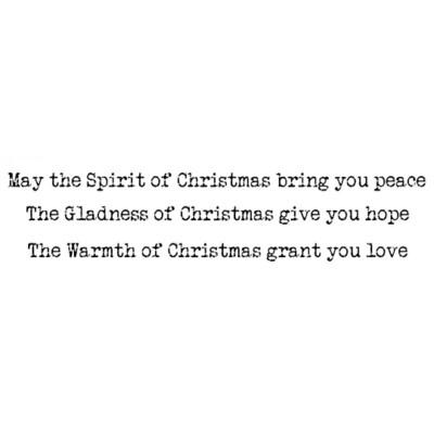 Spririt of Christmas - Lavinia Stamps