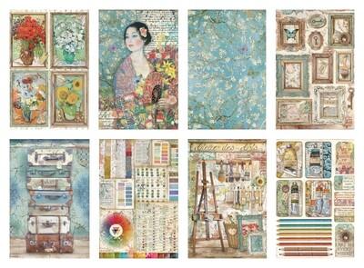 Atelier Des Artes Collection A4 - Stamperia