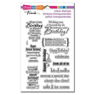Birthday Assortment - Stampendous!