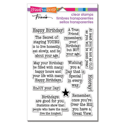 Birthday Age - Stampendous!
