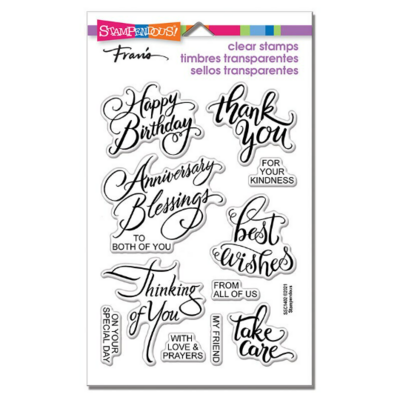 Brushed Messages - Stampendous!