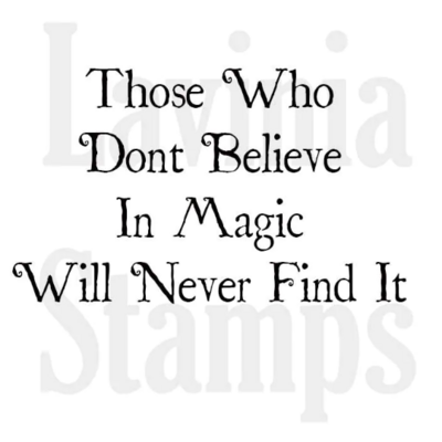 Believe in Magic - Lavinia Stamps