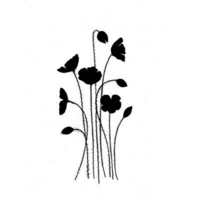 Wild Poppies - Lavinia Stamps