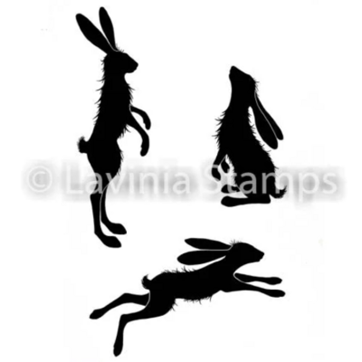 Whimsical Hares - Lavinia Stamps