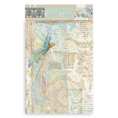 Sleeping Beauty Clear Prints - Stampera