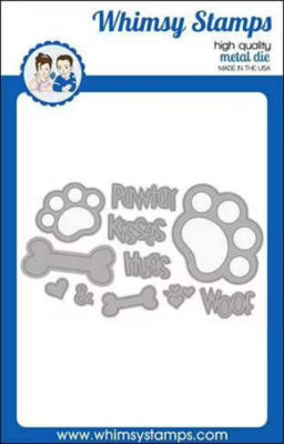 Puppy Paws - Whimsy Stamps