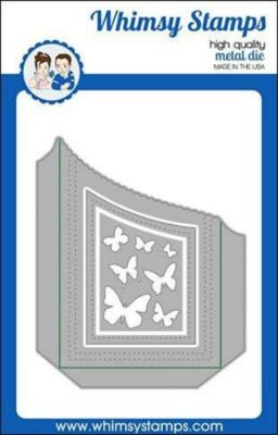 Slimline Scalloped Edge Pocket - Whimsy Stamps
