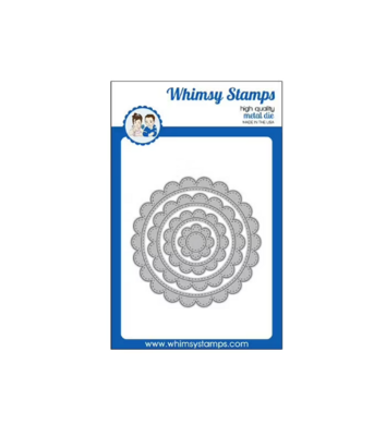 Scallop Circle Frames - Whimsy Stamps