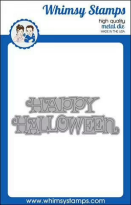 Happy Halloween - Whimsy Stamps