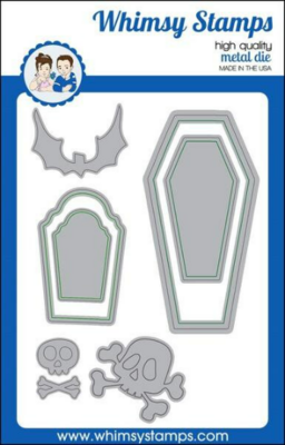 Dracula's Coffin - Whimsy Stamps
