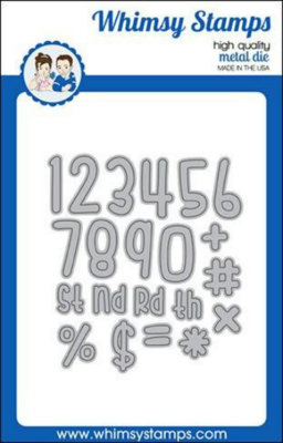 Cutie Numbers - Whimsy Stamps