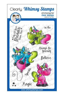 Unicorn Magic - Whimsy Stamps
