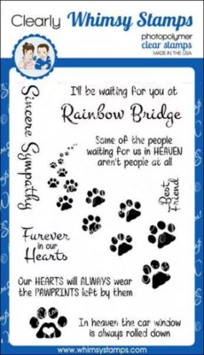 Furever in our Hearts - Whimsy Stamps